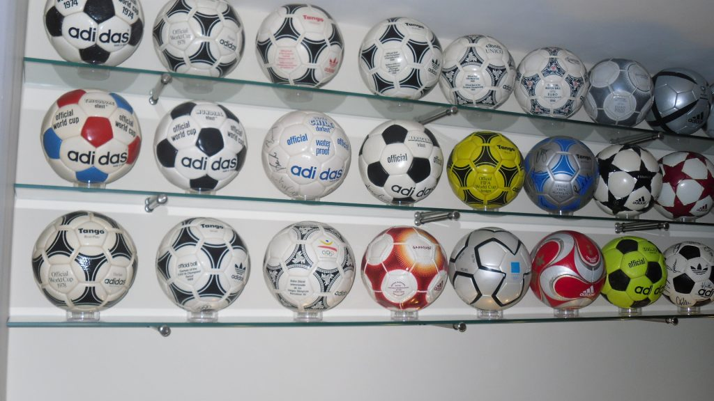 Adam Haley (UK) soccer ball football collection part 1