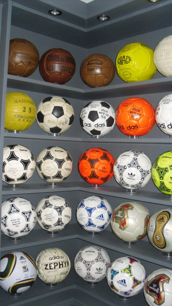 Adam Haley (UK) soccer ball football collection part 2