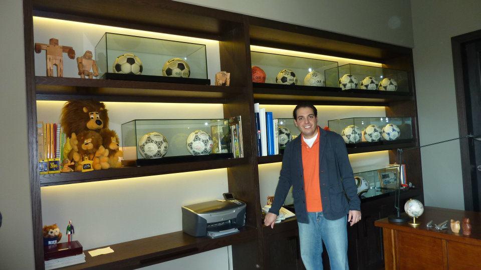 Alfonso Larena (Mexico) soccer ball football collection