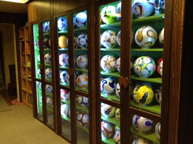 Bob Moore (New Zealand) soccer ball football collection