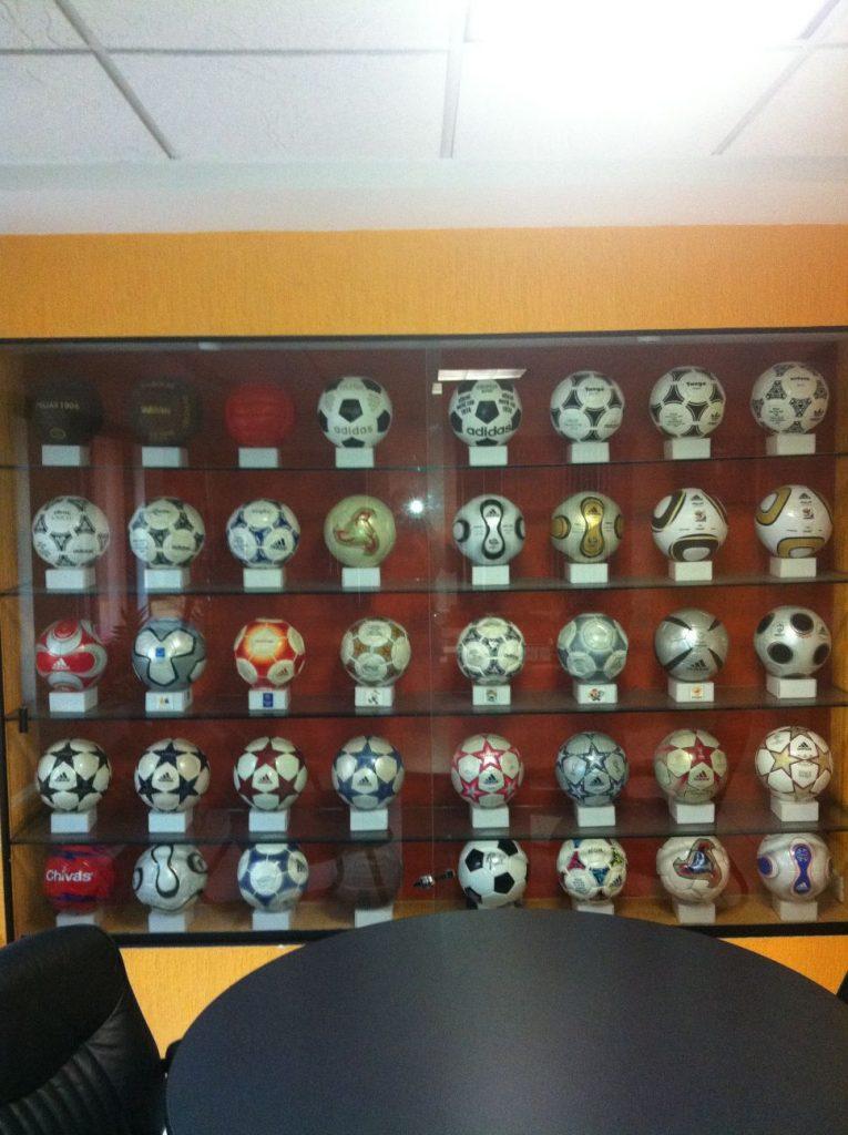 Carlos Barrenechea Collado (Mexico) soccer ball football collection