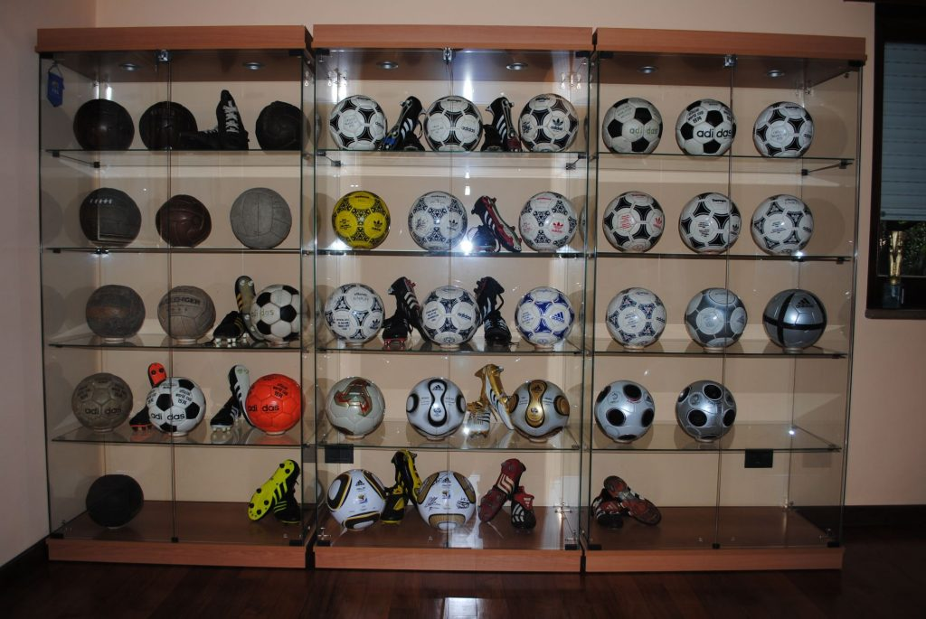 Davide Segneri (Italy) soccer ball football collection