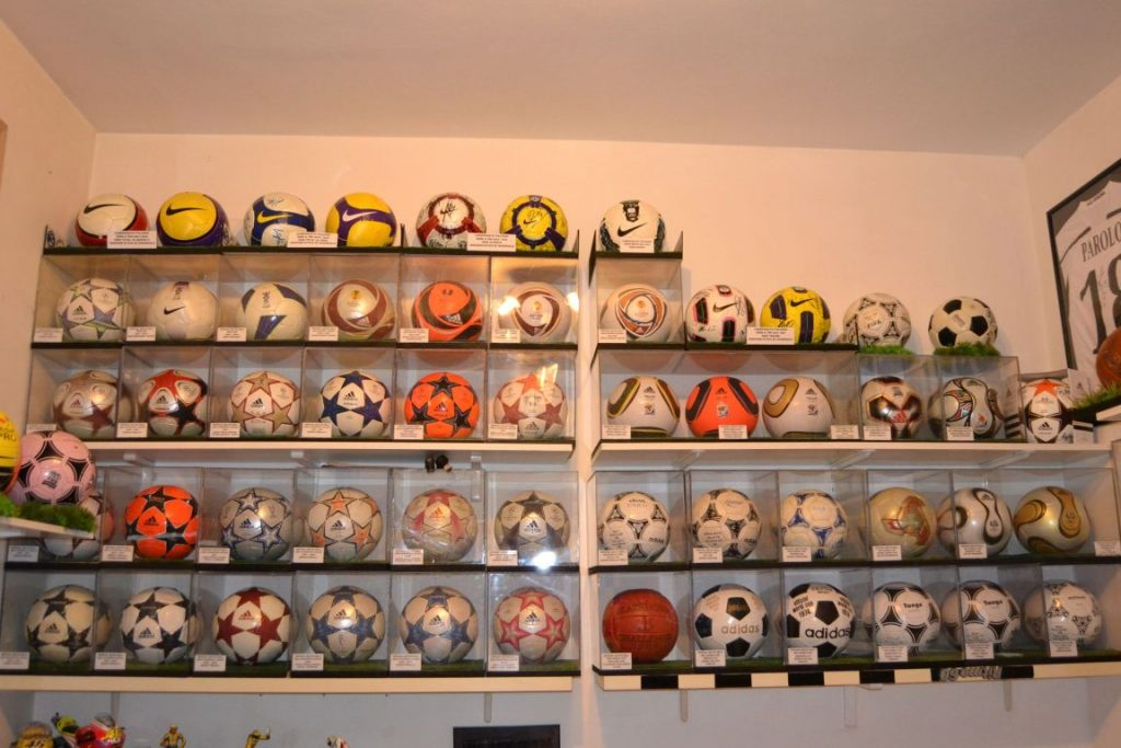 Denny Graffiedi (Italy) soccer ball football collection