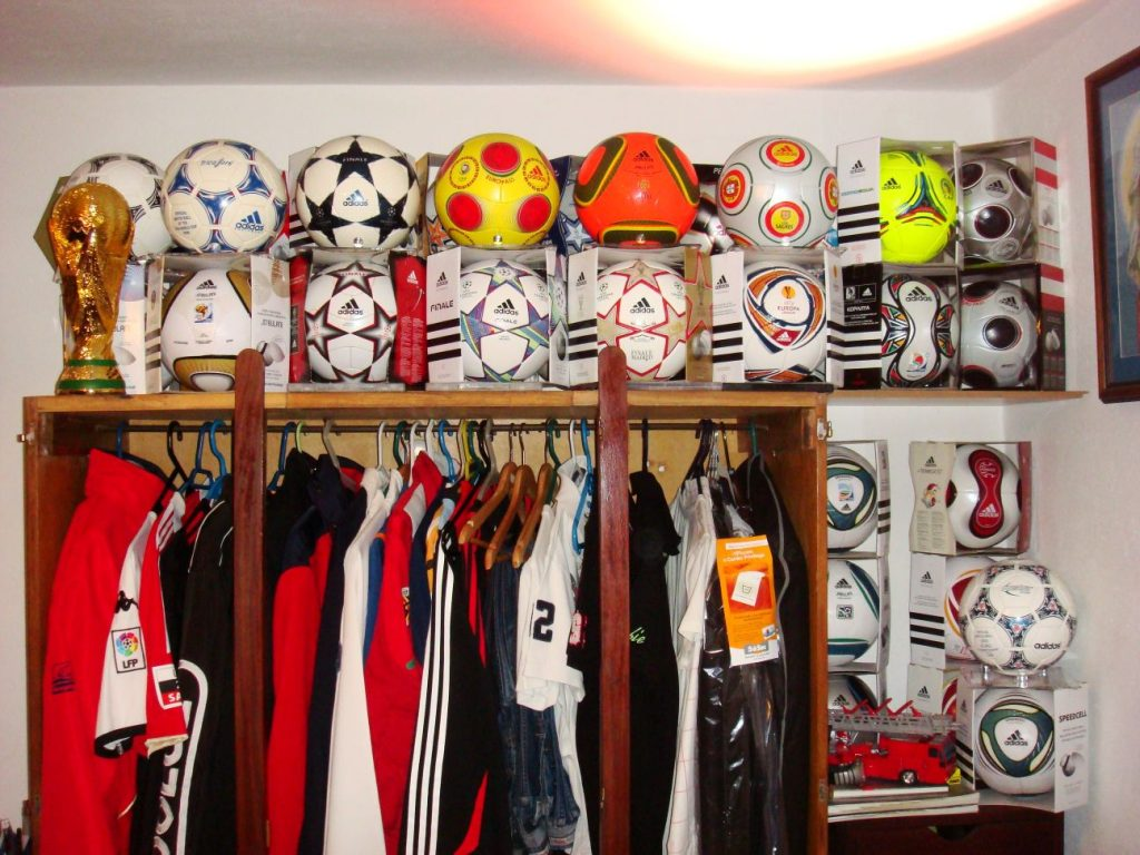 Filipe Sá (Portugal) soccer ball football collection