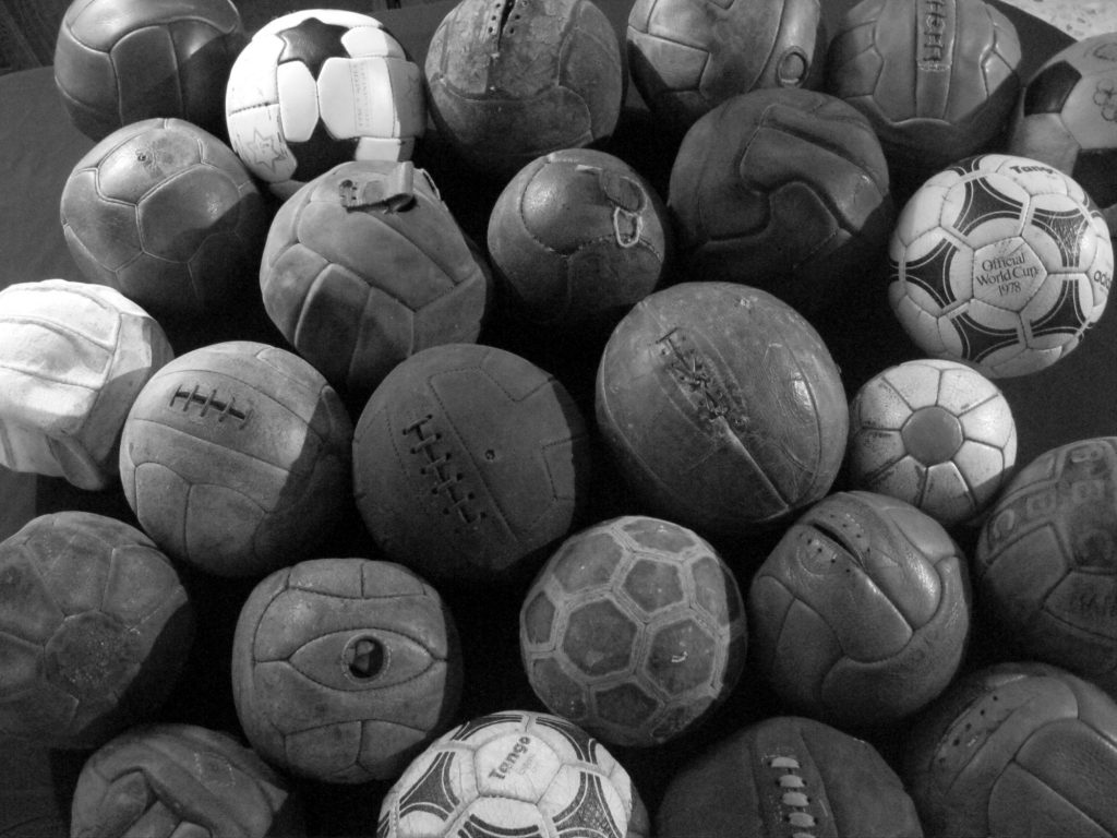 Francisco Aquino (Mexico) old soccer ball football collection