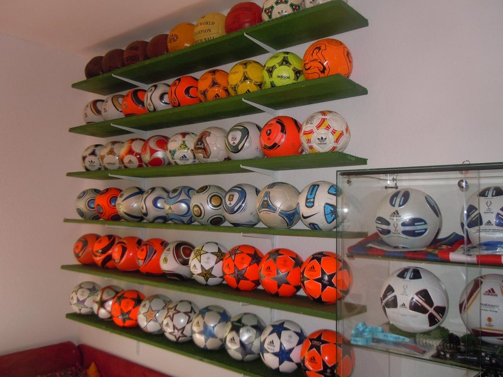 Franz Loy (Germany) soccer ball football collection part-1