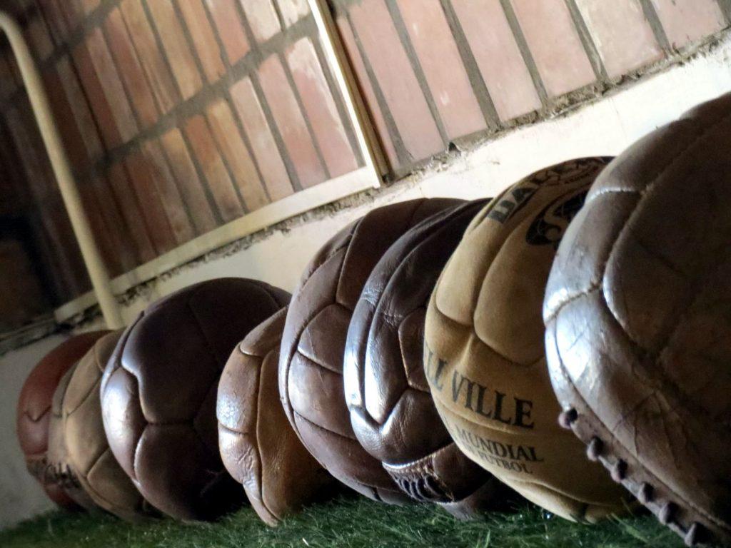 Gyula Pesti (Hungary) vintage soccer ball football collection