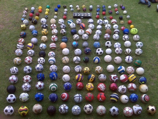 Ishaq Ismail (South Africa) soccer ball football collection part-1