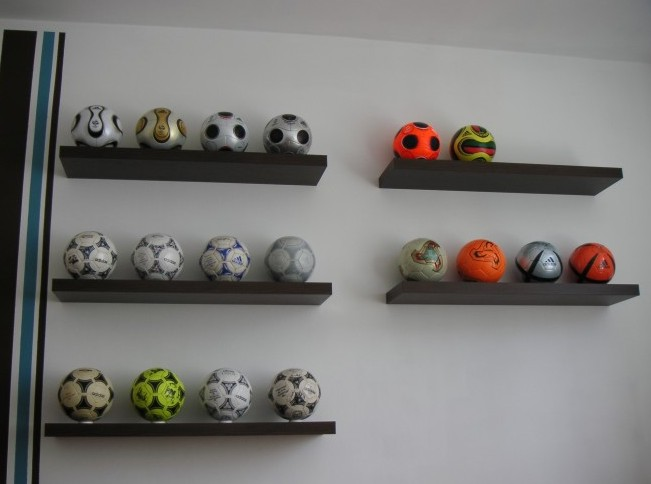 Jürgen Rittsteiger (Austria) soccer ball football collection