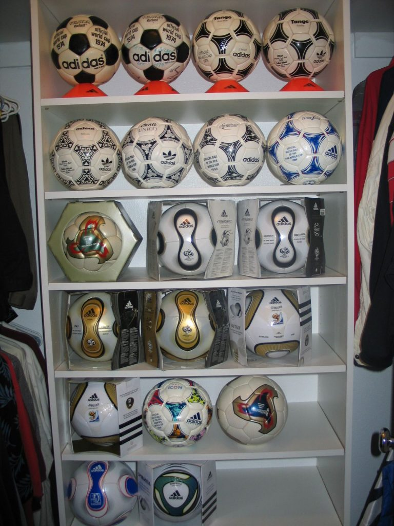 Jacques Barralon (USA) soccer ball football collection