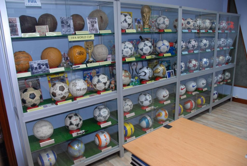 Javier Pinero (Spain) soccer ball football collection part-1