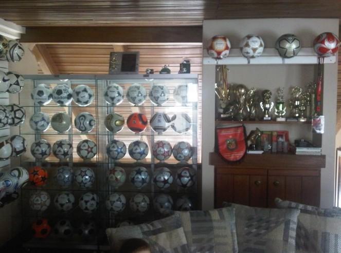 Jose Eduardo Suarez Samaniego (Ecuador) soccer ball football collection part-1