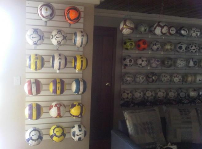 Jose Eduardo Suarez Samaniego (Ecuador) soccer ball football collection part-3