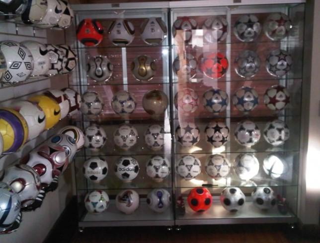 Jose Eduardo Suarez Samaniego (Ecuador) soccer ball football collection part-4