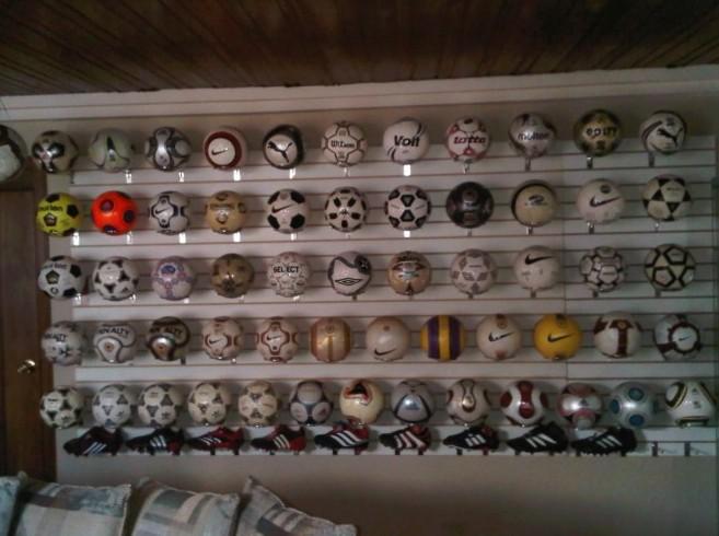 Jose Eduardo Suarez Samaniego (Ecuador) soccer ball football collection part-5