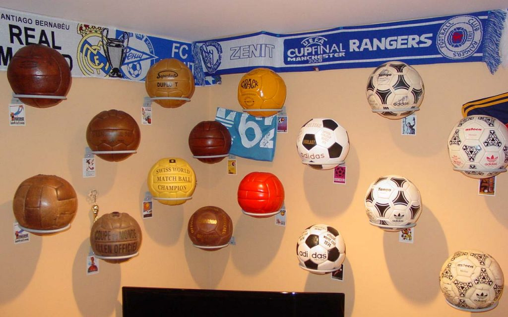 Joseph Fishman (USA) soccer ball football collection part-1