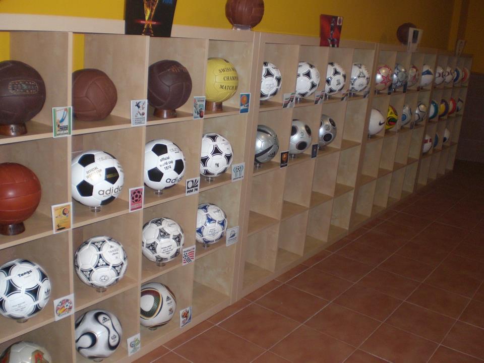 Juan Exposito Bautista (Spain) ball soccer football collection