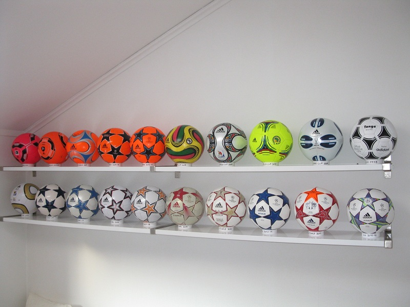 Kenneth Holm (Denmark) soccer ball football collection