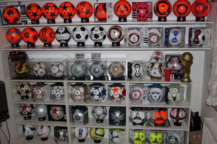 Marco Roth (Germany) soccer ball football collection