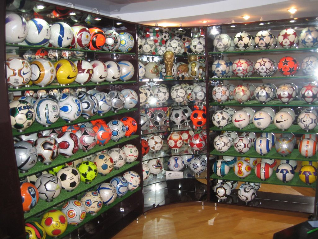 Maxim Vasilyev (Russia) soccer ball football collection