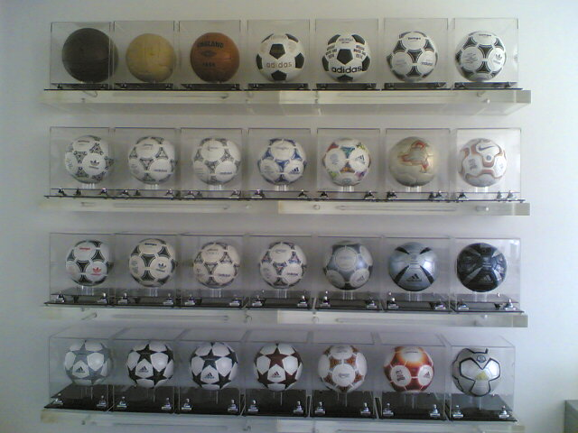 Michael Haholiades (Cyprus) soccer ball football collection