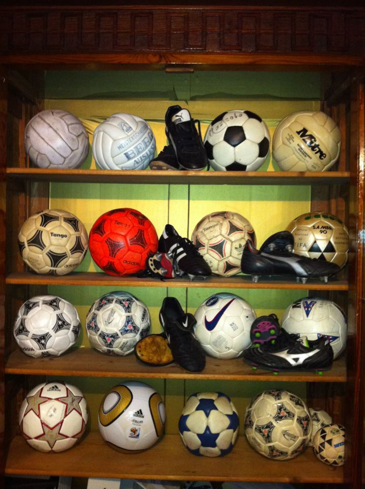 Michele Acquafredda (Italy) soccer ball football collection part-1