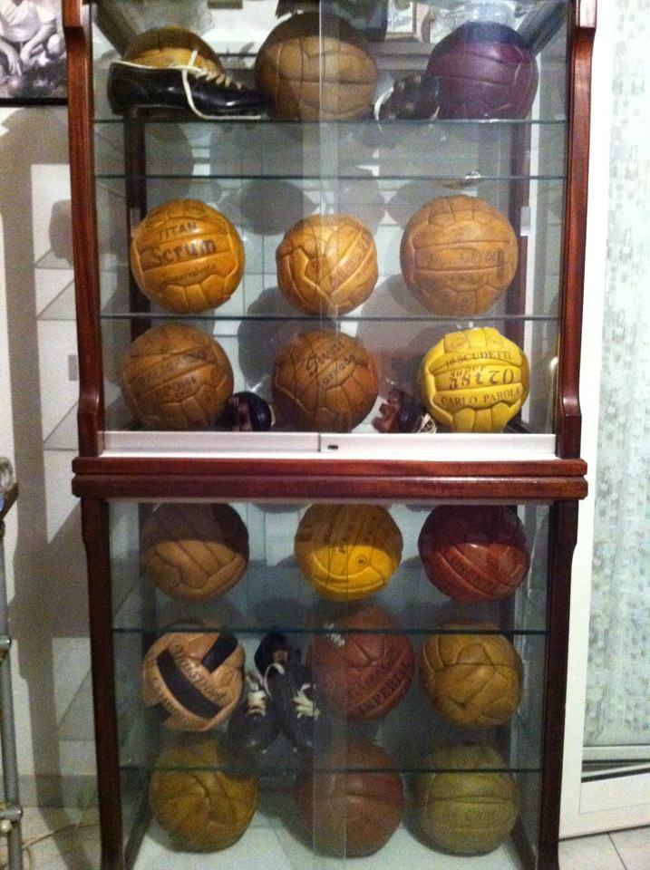 Michele Acquafredda (Italy) soccer ball football collection part-2