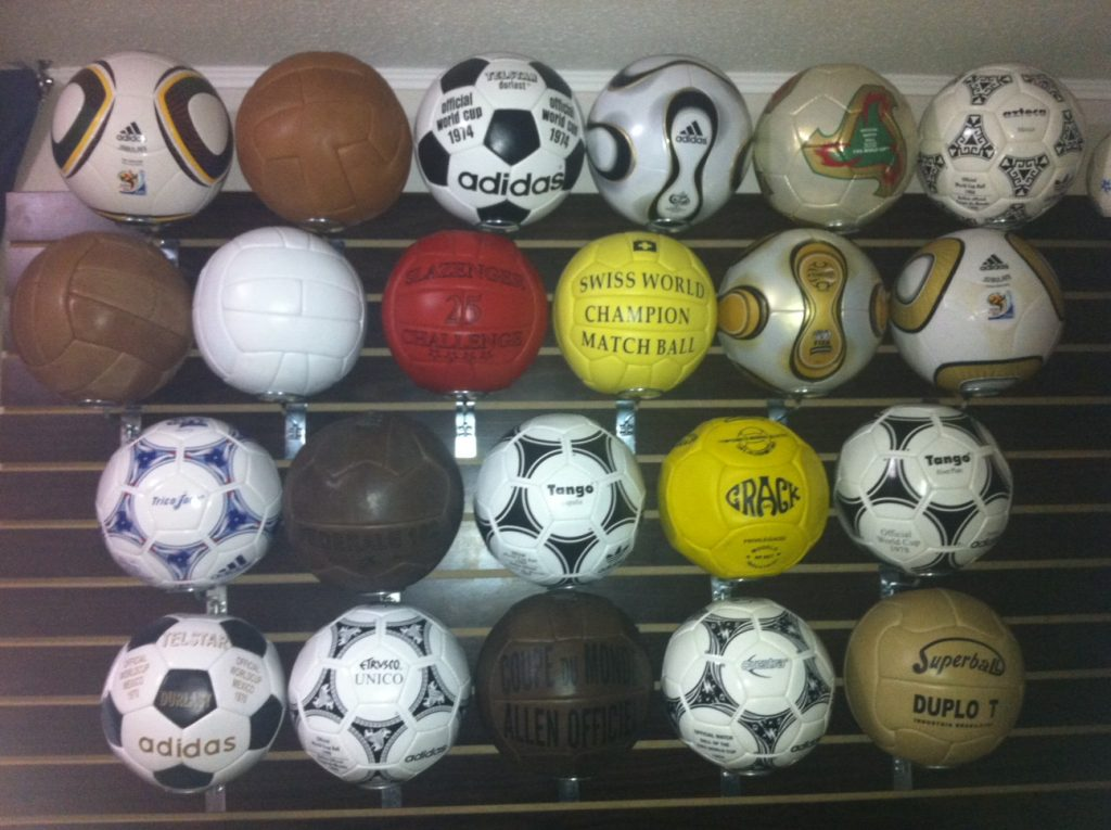 Pablo Gonzalez (Chile) FIFA World Cup soccer ball football collection part-1