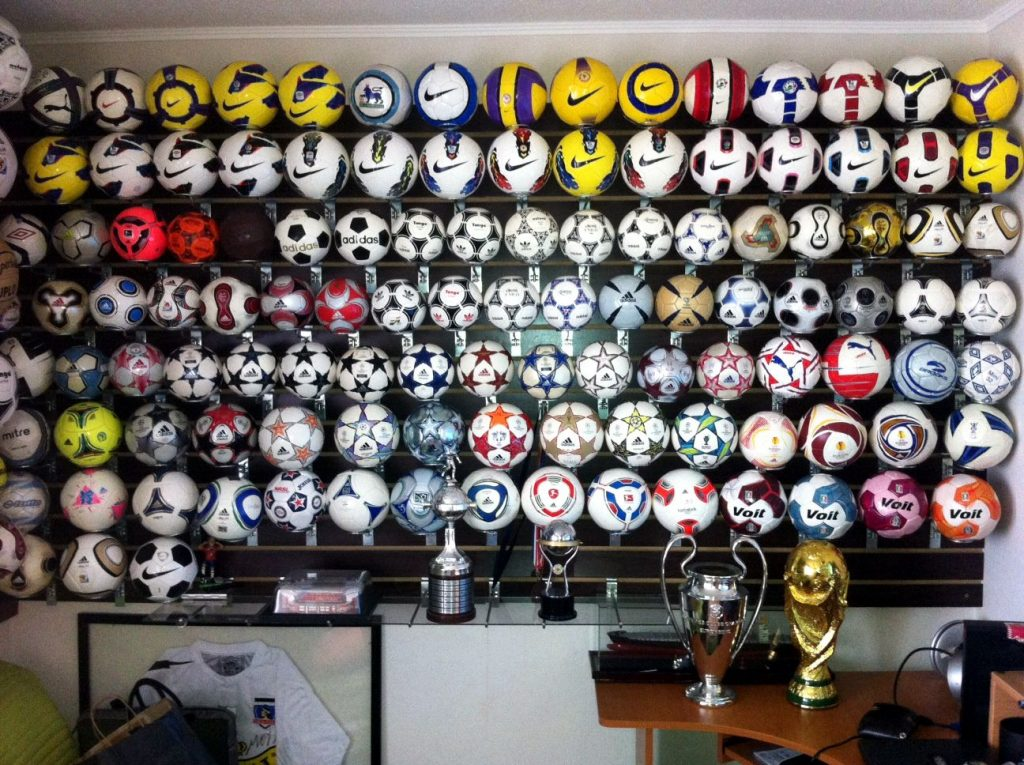 Pablo Gonzalez (Chile) soccer ball football collection part-2