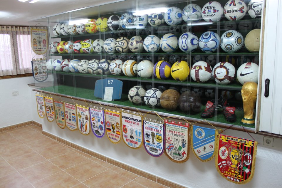 Patricio Pulido Nogal (Spain) soccer ball football collection part-1