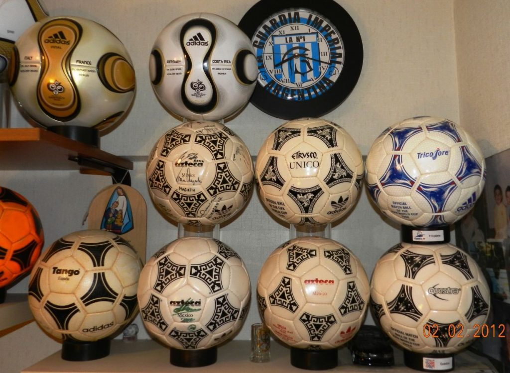 Roman Carasales (Argentina) soccer ball football collection