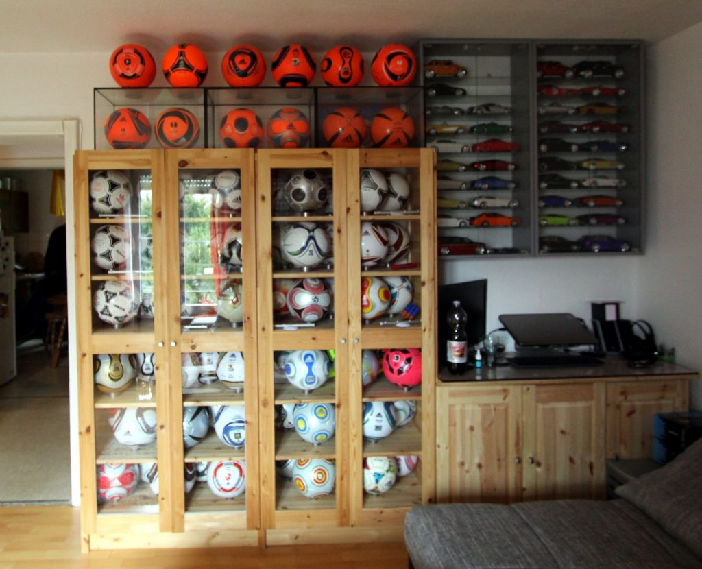Roman Machado (Germany) soccer ball football collection