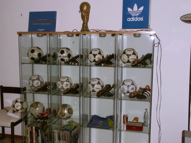 Sebastiano Cali (Italy) soccer ball football collection
