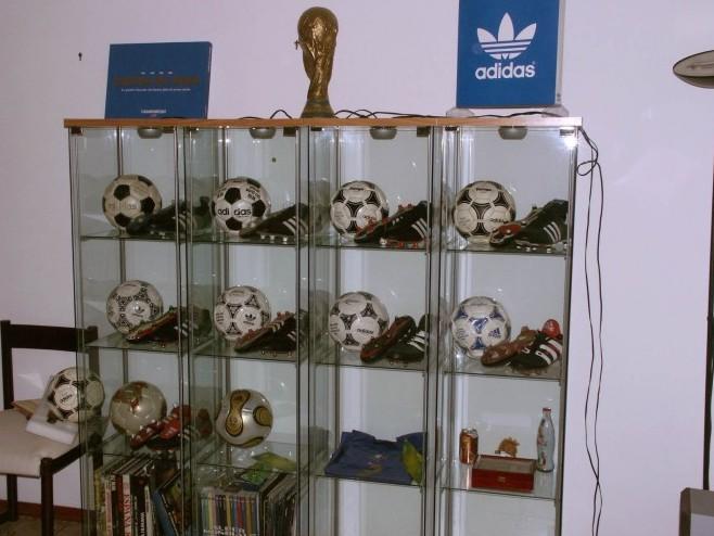Sebastiano Cali (Italy) soccer ball football collection