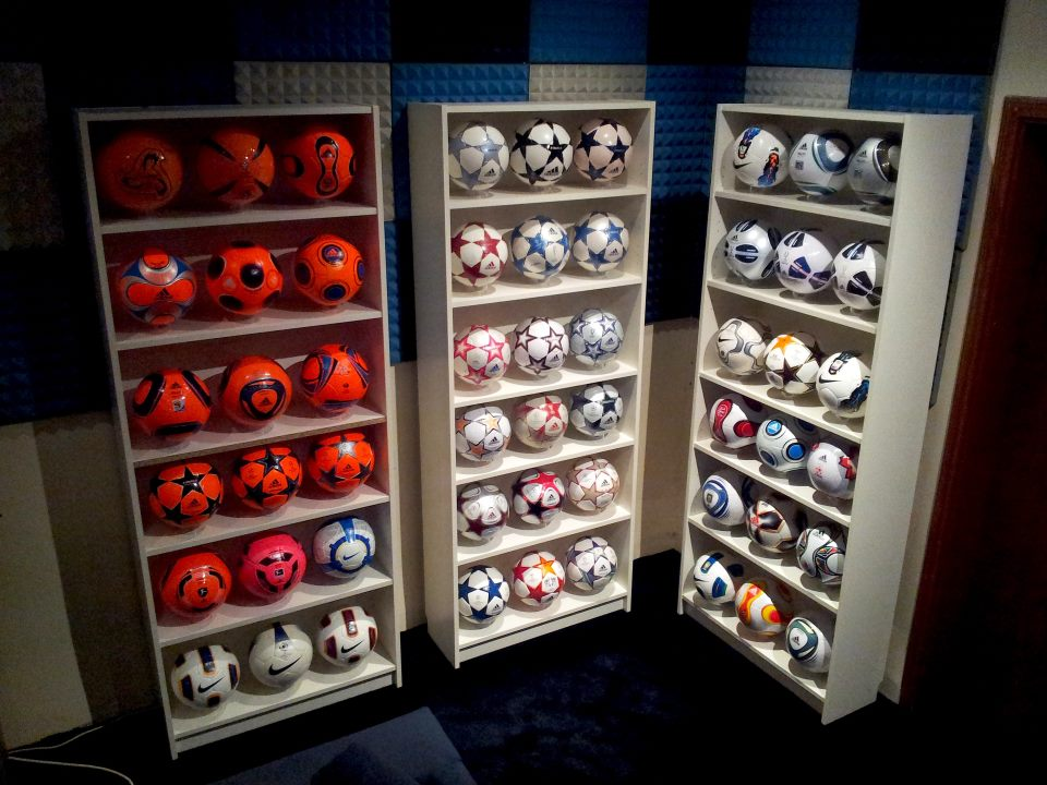 Siby Nichols (England) soccer ball football collection part-2