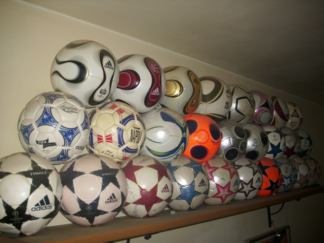 Stefano Saturno (Italy) soccer ball football collection part-1
