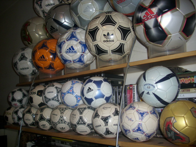 Stefano Saturno (Italy) soccer ball football collection part-2