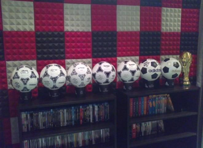 Sulaiman Ali (Kuwait) soccer ball football collection