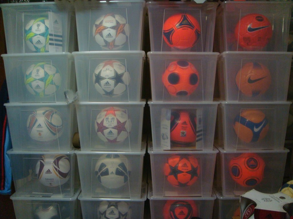 Wilson Chia (Singapore) soccer ball football collection