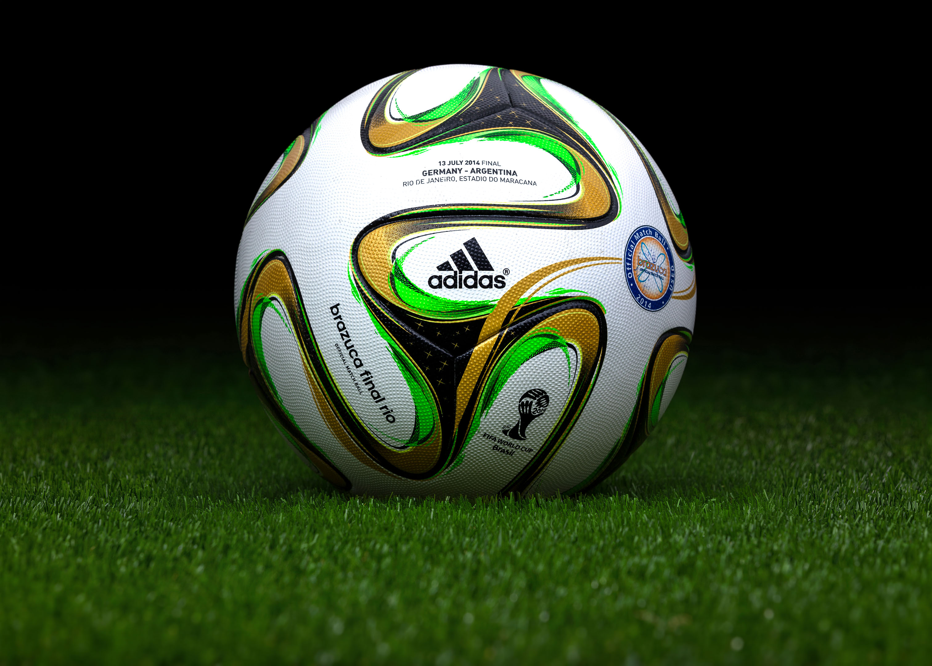94b44365082 Made in China match ball (game used) FIFA World Cup 2014 Brazil ...