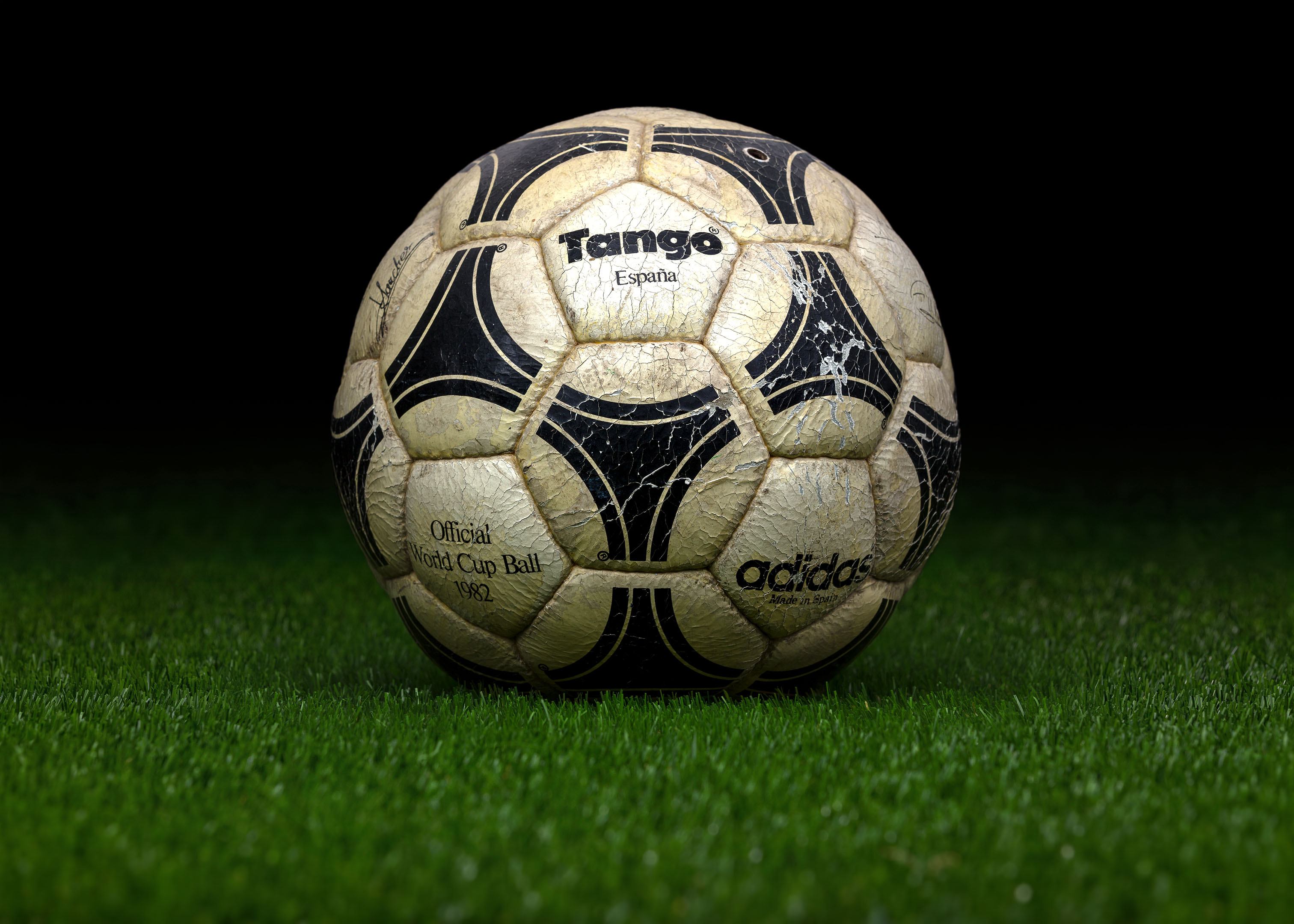 designer fashion thoughts on good texture Made in Spain match ball FIFA World Cup 1982 Spain Adidas ...